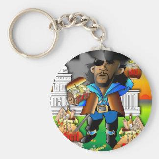 Barack The Pirate Keychains