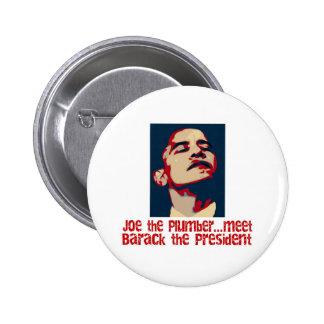 Barack the president 6 cm round badge