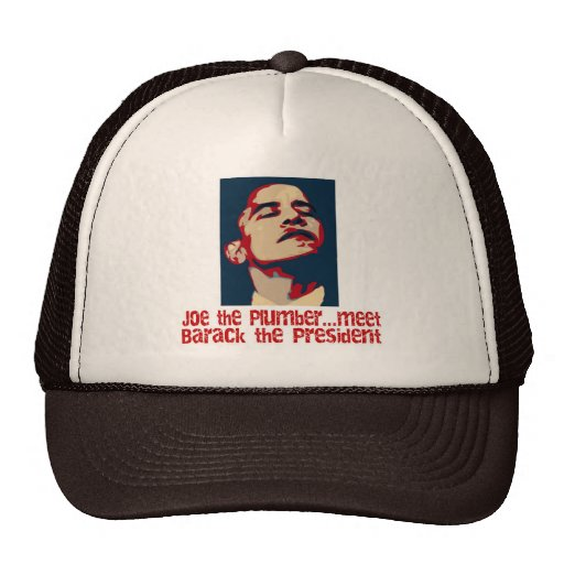 Barack the president mesh hat