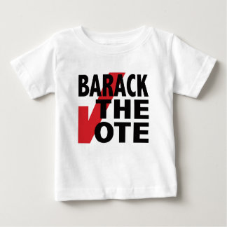 Barack the Vote Baby T-Shirt