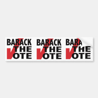 Barack the Vote Bumper Sticker