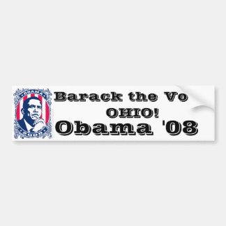 Barack the Vote OHIO Bumper Sticker