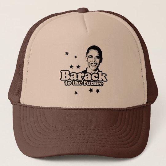 Barack to the future  T-shirt Trucker Hat