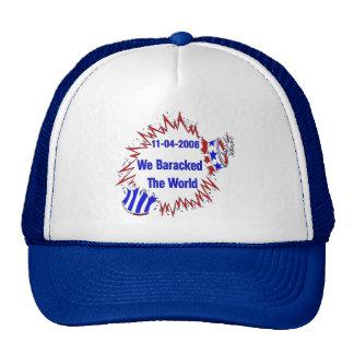 Baracked The World Cap