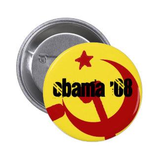 BarackObamaschange, Obama '08 6 Cm Round Badge