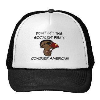 barackobamasocialistpoliticalpirat... - Customized Cap