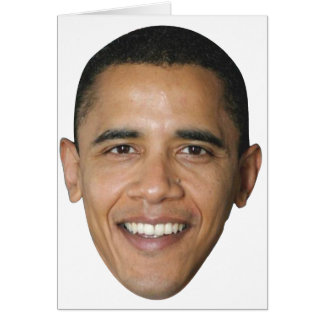 Barack's Face Card