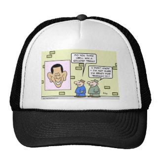 baracky ii obama re-election mesh hats