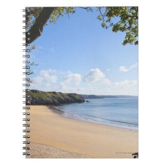 Barafundle Bay Pembroke Pembrokeshire Coast Notebooks