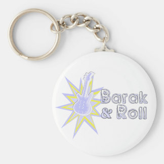 BARAK and Roll Basic Round Button Key Ring