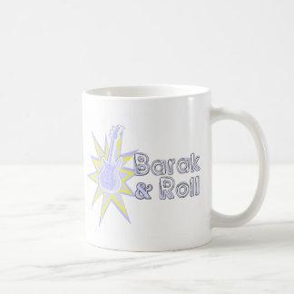 BARAK and Roll Basic White Mug