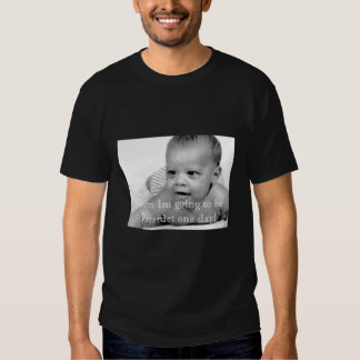 barak baby, Mom Im going to be Pre... - Customized Tees