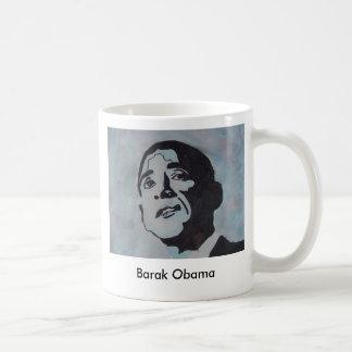 Barak Obama Basic White Mug