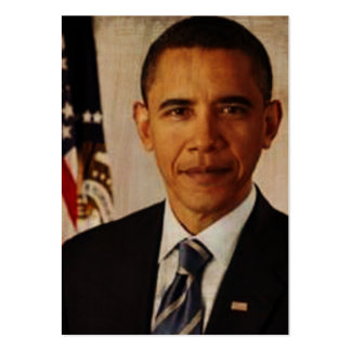 Barak Obama Information Cards Pack Of Chubby Business Cards