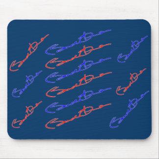 Barak Obama Signature Mousepad