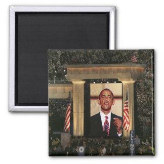 Barak Obama speaks at the last night of the Magnet