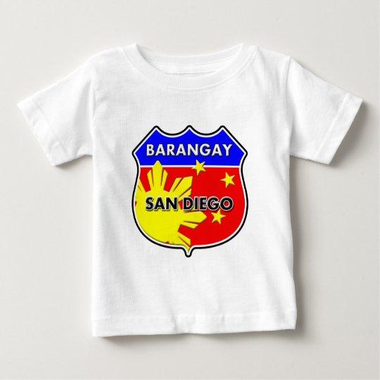 Barangay San Diego Baby T-Shirt