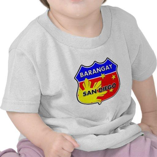 Barangay San Diego T-shirt