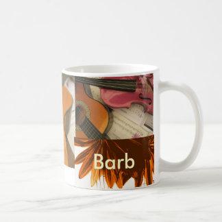 Barb Basic White Mug