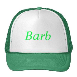 Barb Cap