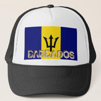 Barbados barbadian flag souvenir hat