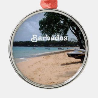 Barbados Beach Christmas Ornament