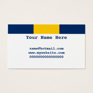 Barbados Business Card