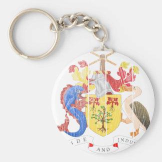 Barbados Coat Of Arms Key Ring