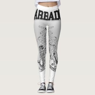 Barbados Coat of Arms Leggings