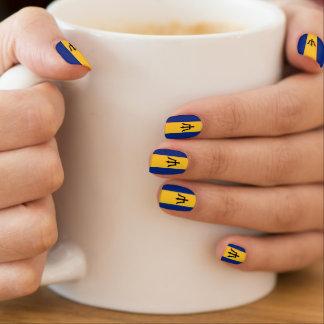 Barbados fingernails nails stickers