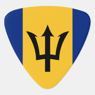 Barbados Flag Guitar Pick