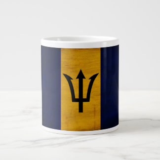 Barbados Flag Large Coffee Mug