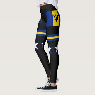 Barbados Flag Leggings