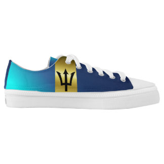 Barbados Flag Low Tops