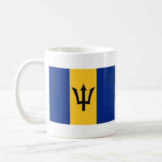 Barbados Flag ~ Map Mug
