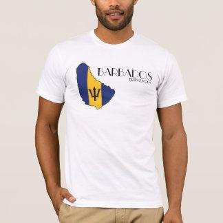 Barbados Flag Map Shirt
