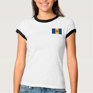 Barbados Flag + Map T-Shirt