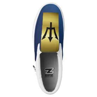 Barbados Flag Slip On Shoes
