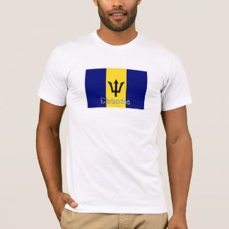 Barbados flag souvenir t-shirt