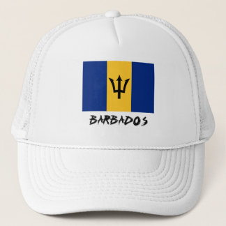 Barbados Flag Trucker Hat