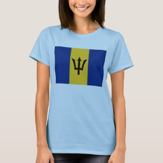 Barbados Flag x Map T-Shirt