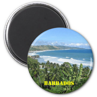 Barbados fridge magnet