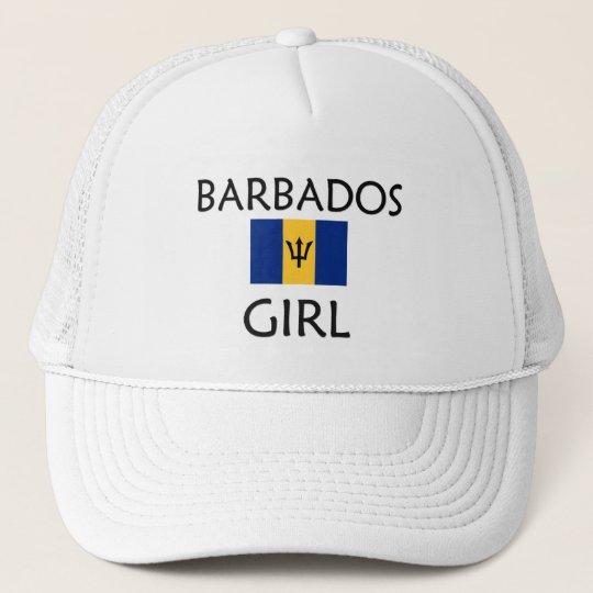 BARBADOS GIRL TRUCKER HAT