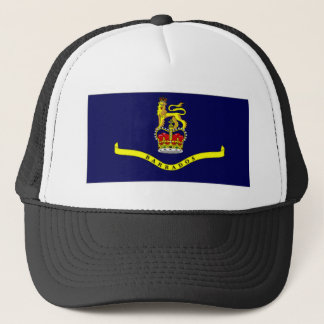 Barbados Governor General Flag Trucker Hat