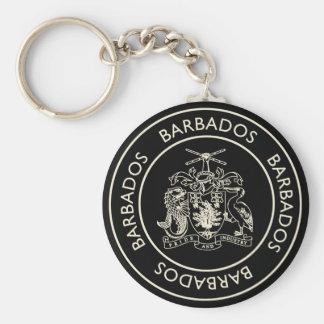 Barbados Key Ring