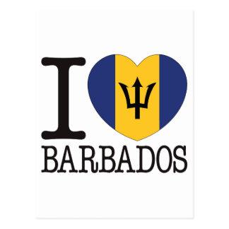 Barbados Love v2 Postcards