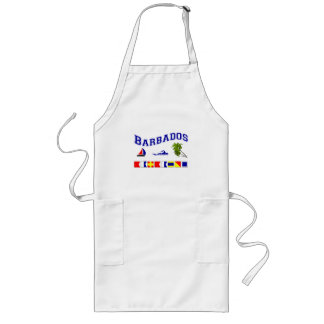 Barbados - (Maritime Flag Spelling) Long Apron