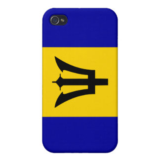 Barbados National Nation Flag  iPhone 4/4S Cover