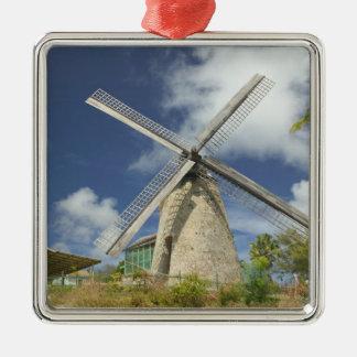 BARBADOS, North East Coast, Morgan Lewis: Morgan Silver-Colored Square Decoration