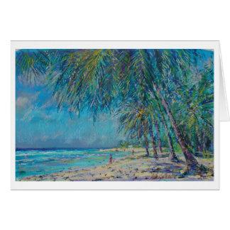 Barbados Palms Card